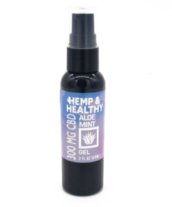 hemp oil cbd gel cool calm pain relief skincare redness