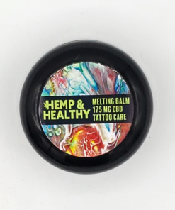 hemp oil cbd pain relief tattoo care balm healing ink