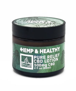 broad spectrum hemp cbd lotion pain relief arthritis