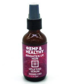 cbd skincare serum brighten up hemp oil